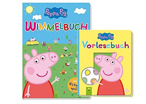 Unbekannt Peppa Pig, libro di scenari + libro di baldacchino con il divertimento (libro di carta)
