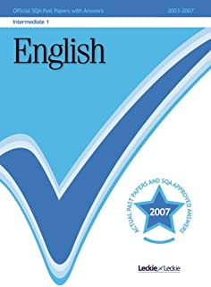 English Intermediate 1 2007/2008 SQA Past Papers (Sqa Past Papers)