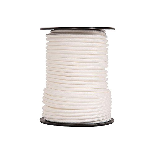 BEAL Unisex – Adulto REEPSCHNUR 5 mm DYNEE, Blanco, 50 m