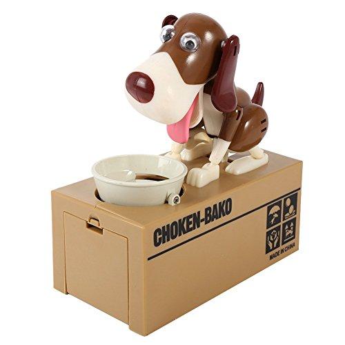 Ecarton Niedlichen Hund Stechen Münze Haustier Hund Geld Bank Glas sparen sparen Sparbüchse,Weihnachten Geschenk