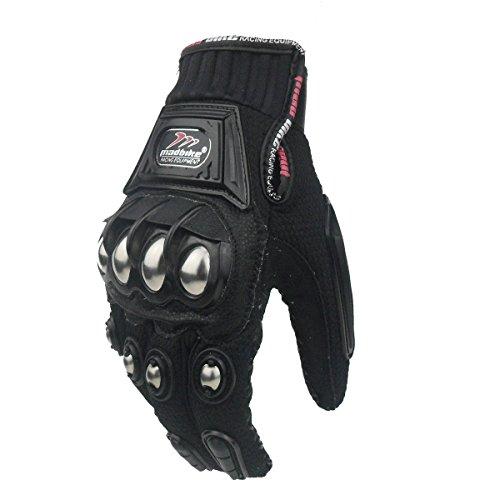 Madbike Handschoen Motorfiets Racing Motorfiets Handschoenen Legering Staal Bescherming M,L,XL,XXL XL