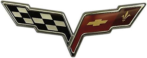 2008-2011 Chevy Corvette C6 Rear New item Flags Ne Max 52% OFF Emblem Bumper