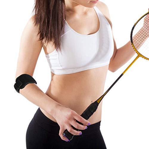 Armbåge, tennisarmbåge, stödskydd, armbågsremmar, blått skydd för att skydda armbågen, sportskydd för träningsutrustning