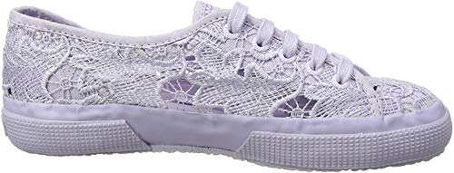SUPERGA 2750-MACRAMEJ, Sneaker Unisex-Bambini, Viola (Total Violet Lilac 914), 25 EU
