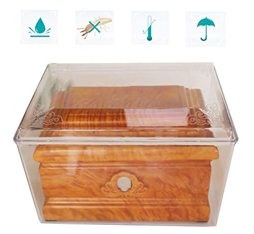 ZCCGRASS Korrosionsbeständige und wasserdichte versiegelte Box für große Ascheschatulle Bestattungsbestattungsurnen für menschliche Asche Staubdichte Aufbewahrungsbox<br>
