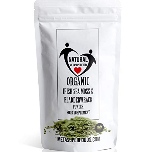 Sea Moss and Bladderwrack Powder 300g High Potency | Vegan | Immune Support | Non GMO | Dr Sebi