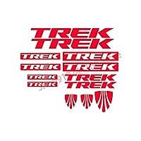 HYYT トレッキーバイクビニールデカールステッカーバイクフレーム、MTBサイクリングBMXカーロードバンサイクル (Color Name : Red)