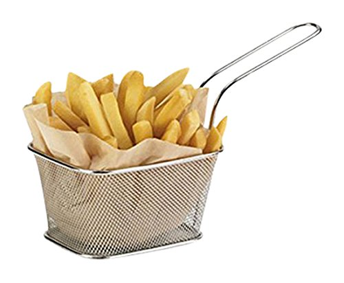 6minis cestas de patatas fritas...
