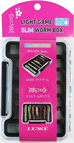 がまかつ(Gamakatsu) LUXXE 宵姫スリムワームボックス LE505 ライトブルー