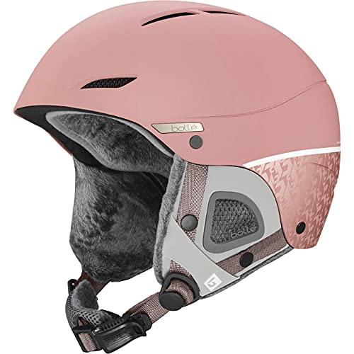 Bollé Women's Juliet Ski Helmets, Vintage Rose Matte, M
