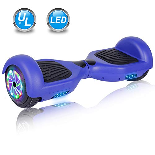 UNI-SUN Chrome Hoverboard for Kids, 6.5' Two Wheel...