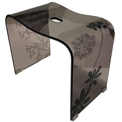 センコー サリナ 2 バスチェア 風呂椅子 高さ約 35cm ブラウン 約43×26×高35cm 60436