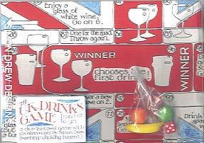 Simon Drew UK Drankjes spel - Dobbels en Theedoek