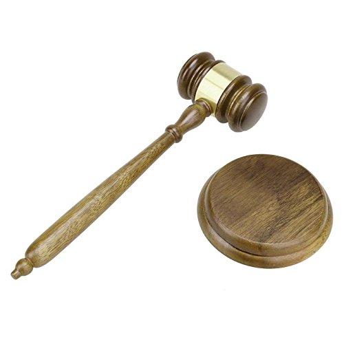 Duurzame houten handgemaakte ambachtelijke advocaat rechter veiling hamer hamer Hof decor-Frankrijk