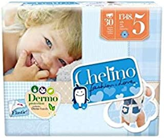 Pañal Chelino Fashion & Love Talla 5 30 uds