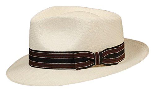 Grosgrain Hat Band - for Panama, Felt, Straw Replacement Strap (Brown, Black)