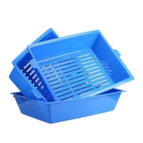 Maomaogougou huisdier benodigdheden 3-in-1 kat nestkast half gesloten wc bedpan zelf zeefstrooisel gemakkelijk schoon te maken
