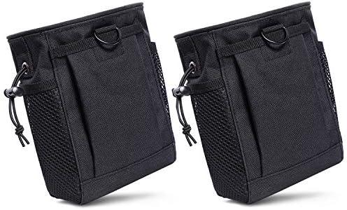 2 Pack Dump Pouch Drawstring Magazine Dump Pouch Tactical Molle Dump Bags Adjustable Military product image