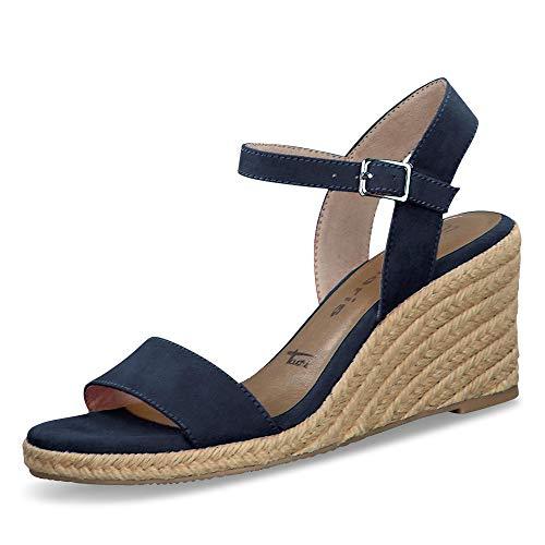 Tamaris 1-1-28300-24 805 dames open sandalen met sleehak