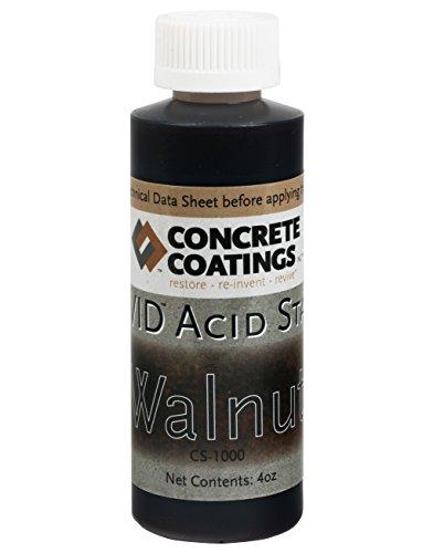 VIVID Acid Stain - 4oz - Walnut (Rich Black W/Brown Undertone)