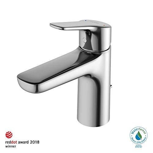 TOTO TLG03301U#CP Single Handle Bathroom Faucets, Polished Chrome