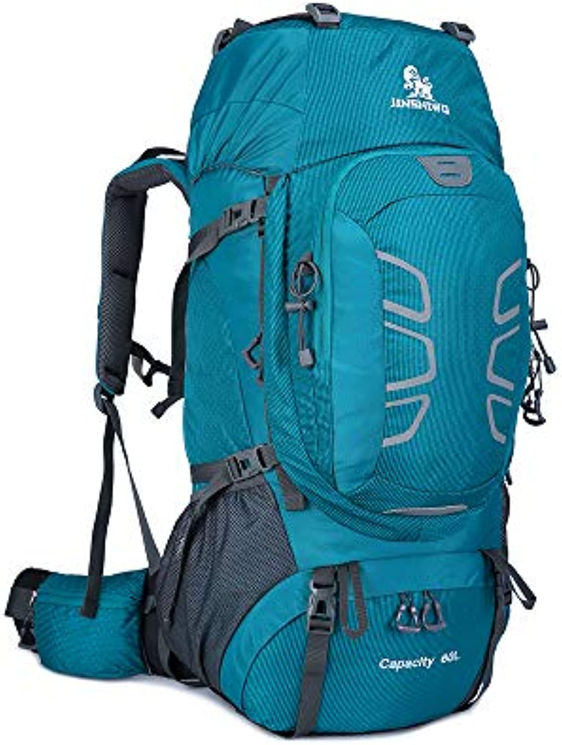 Travel Backpack Shoulder Outdoor, Waterproof and Wearable Multifunctional Hiking Hiking Bag Large Capacity 60L Men and Women Backpack