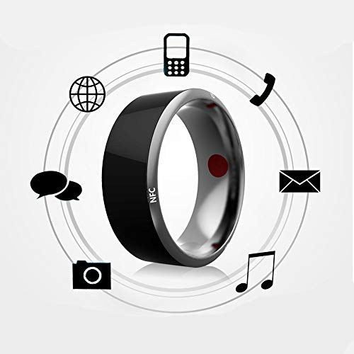 KEMANDUO Anello da 54 Mm Universale in Titanio Impermeabile per Smart Ring per iOS - Anello Intelligente - Lord of The Rings - Anello Portacellulare da Indossare,70Mm