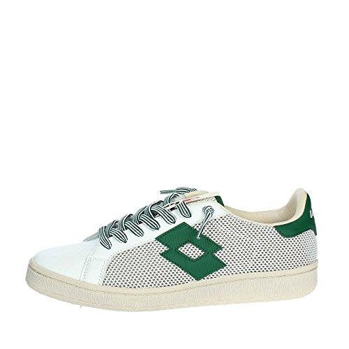 LOTTO Legenda T4557 Sneakers Uomo Wht/Grn VRD 44