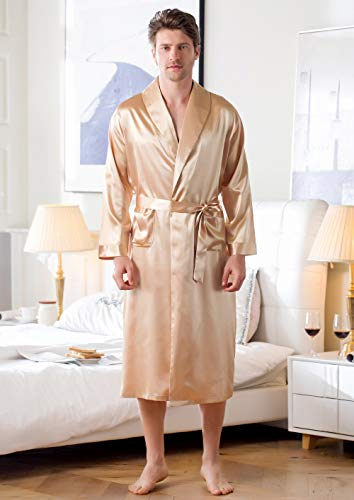 Modèles D'Explosion Robes en Soie Vêtements À La Maison Pyjamas en Soie Glacée Peignoir Hommes Robes Longues Kimono Hommes XL Robe1 Livraison Gratuite