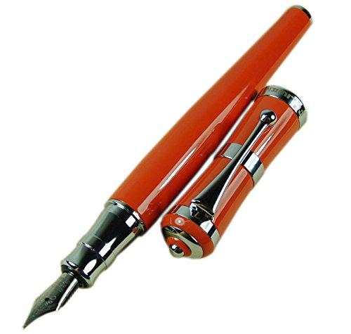 Fuliwen Füllhalter Orange Chinalack Luxus Stil feine Spitze Größe Stift