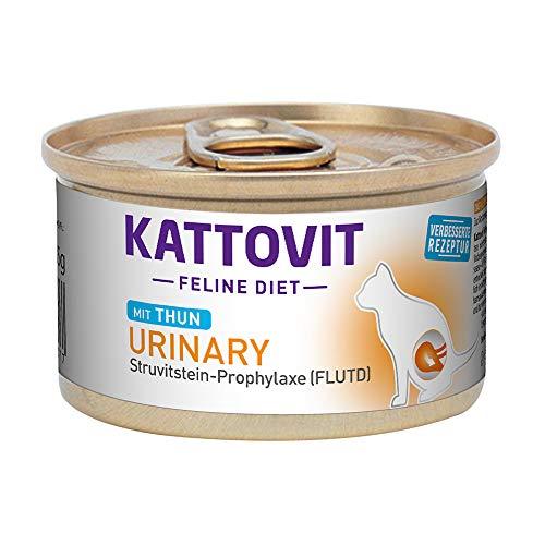Kattovit Dose Feline Diet Urinary Thunfisch Struvitstein-Prophylaxe FLUTD (C-Rezeptur) 85g (Menge: 12 je Bestelleinheit)