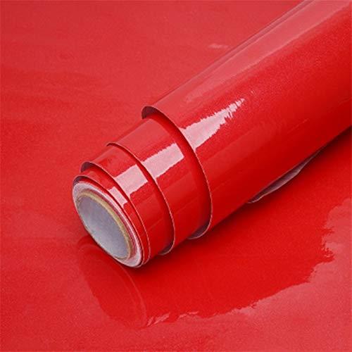kengbi Fácil de decorar popular duradero papel pintado de vinilo autoadhesivo de color sólido salón cocina muebles pegatinas PVC impermeable mármol papel de contacto