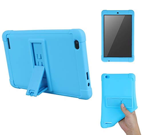 Onn 7 inch Tablet Case, [Kickstand] Shockproof Silicone Case Cover +...