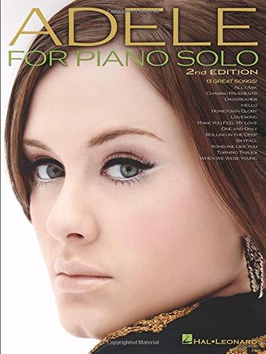 Adele -For Piano Solo-: Buch, Songbook für Klavier
