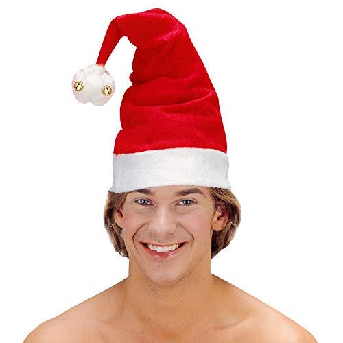 WIDMANN- Babbo Natale Cappello Adulto, Multicolore, 1503P