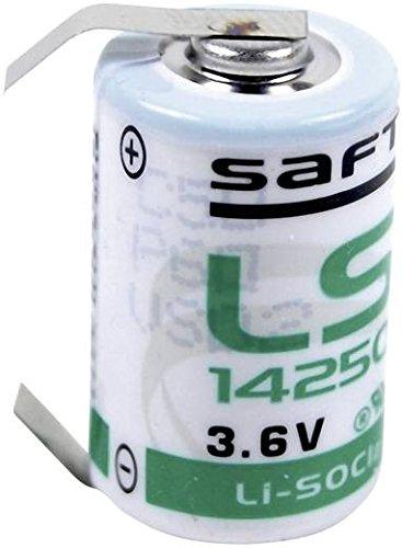 Saft LS 14250 CLG Spezial-Batterie 1/2 AA U-Lötfahne Lithium 3.6V 1200 mAh 1St.