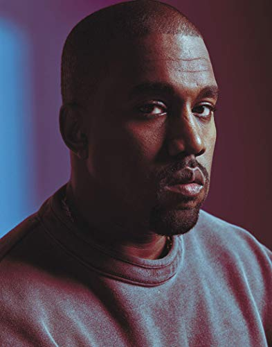 Kanye West Poster Art Print Posters 11×14 inches Unframed Canvas Print