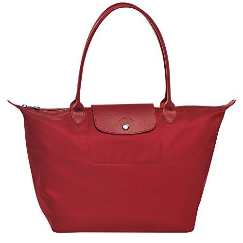 LongChamp Le Pliage Neo Damen-Handtasche, groß, Rot