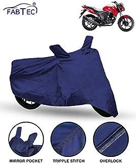 FABTEC Bike/Motorcycle Body Cover for Honda Cb Unicorn (Blue)