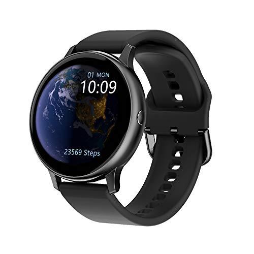 Idasuho Smartwatch con monitoraggio del Sonno del Passo della frequenza cardiaca, Orologio Intelligente IP67 Impermeabile per Bambini Uomo Donna, Compatibile con telefoni Android iPhone