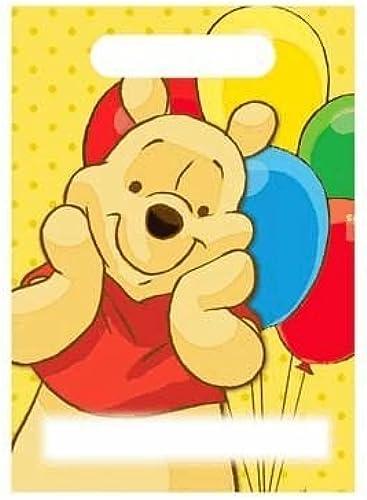 Winnie The Pooh Treat Sack - 8 Pkg. by KidsPartyWorld