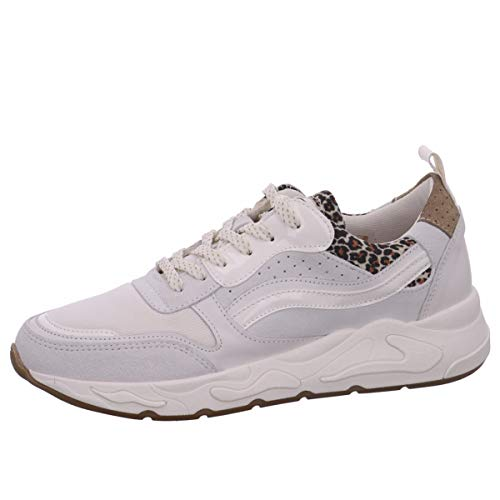 PS Poelman Damen Sneaker Low P6469POE hellgrau 39