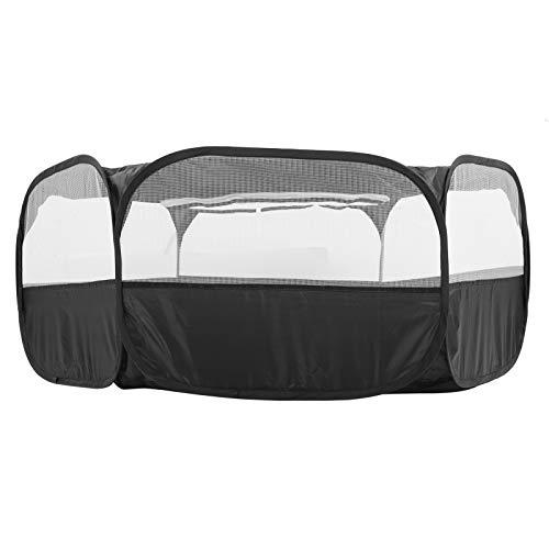 Asixxsix Tente de Cage pour Animaux de Compagnie Portable, Petit Parc pour Animaux de Compagnie en Tissu + métal, Tente extérieure intérieure pour Animaux de Compagnie pour Chiots Accessoires(#1)