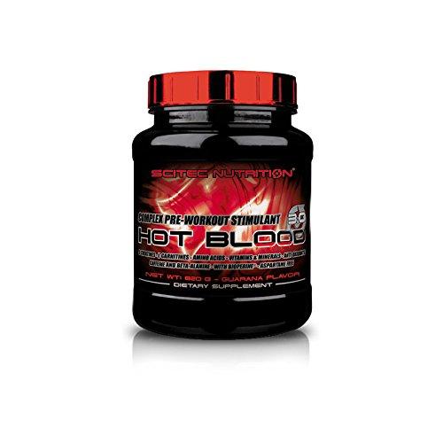 Scitec Nutrition–Hot Blood 3.0–Arancione di maracuja–Net WT: 820G