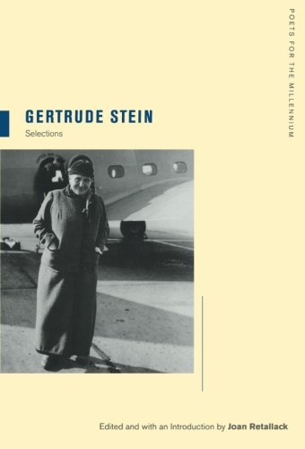 Gertrude Stein (Poets for the Millennium)