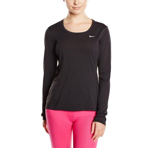 Nike - Fitness-Longsleeves für Damen in blau, Größe XS