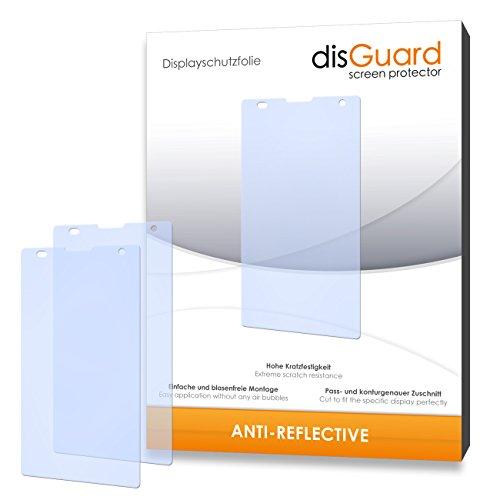 disGuard hartbeschichtet Anti-Reflective Bildschirmschutzfolie für Huawei Honor 3C 4G (3-er Pack)