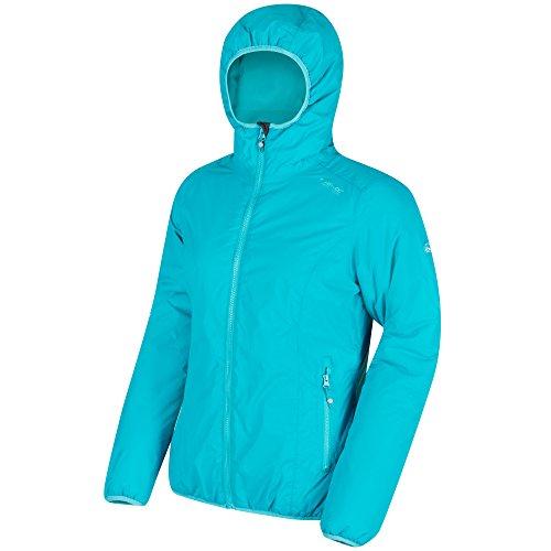 Regatta Damen Tuscan Wasserfeste Jacke, aqua, 42 (Herstellergröße: 16)