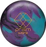 Brunswick Prism Warp Bowling Ball - Turquoise/Purple/Black 12lbs