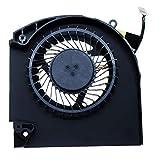 DREZUR Cooling Fan Compatible for Dell Alienware 17 R4 17 R5 P31E Series Game Laptop (CPU Fan)